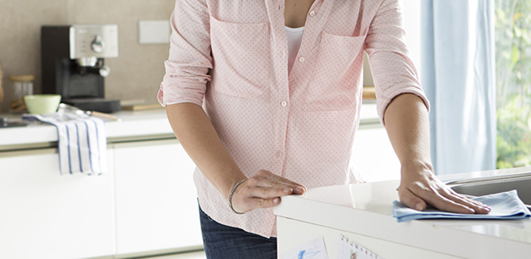 letreros de la página de bienvenida de limpieza y limpieza del hogar