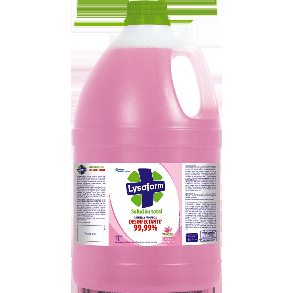lysoform solución total floral 4 l