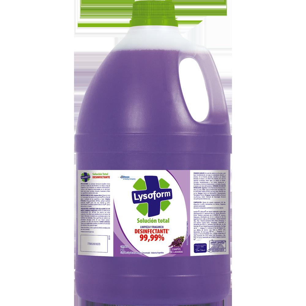 lysoform solución total lavanda 4 l