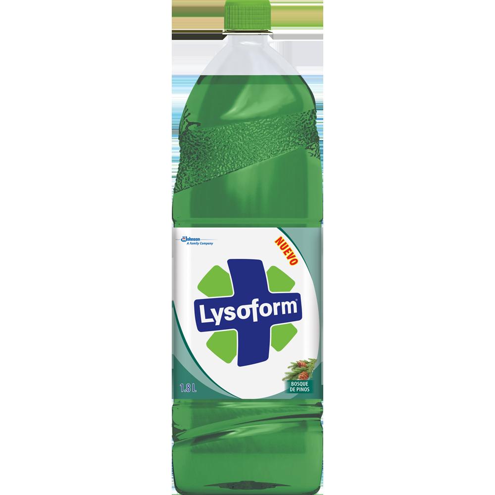lysoform solución total pino 1800 cm3
